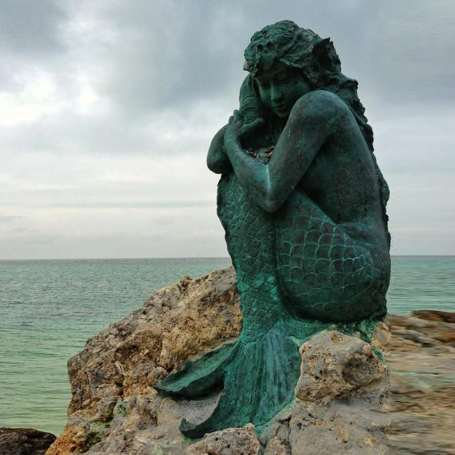 Mermaid Sculptures - 48 For Sale on 1stdibs