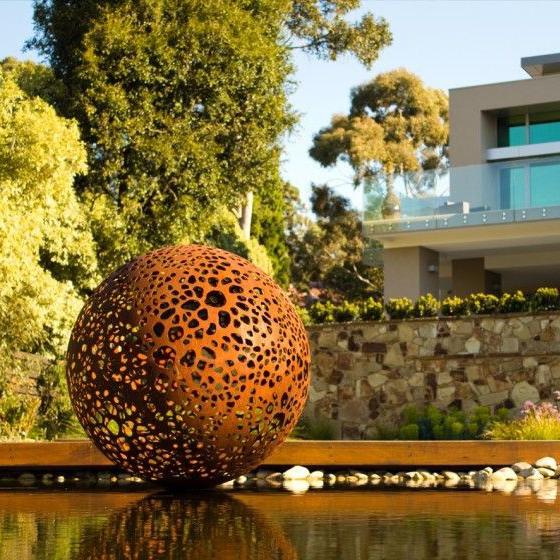 Corten Steel Garden Sculptures Www Onlyartsculpture Com