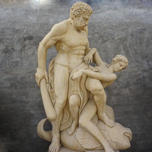 Stone Roman Figure
