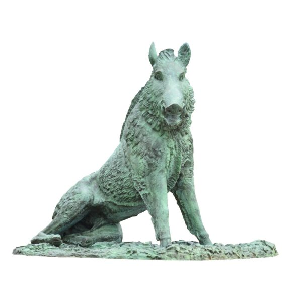outdoors ; indoor ; bronze statue ; decorate ; Large scale ; City decoration ; garden ; Park decoration ; Wild Boar ; Wild Boar sculpture ; Wild Boar statue ; Life Size ; Large bronze garden wild boar statue decor garden or home on hot selling