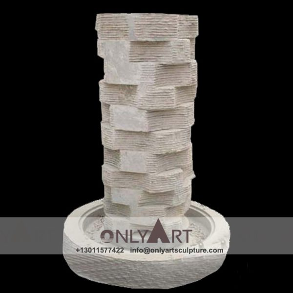Fountain Marble Sculpture ; Marble Fountain ; stone Fountain ; Indoor ; Outdoor ; Hand carved ; life size ; Large ; Ball ; Wall Fountain ; Garden decoration marble water fountain sculpture