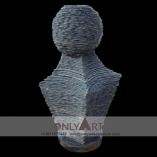 Fountain Marble Sculpture ; Marble Fountain ; stone Fountain ; Indoor ; Outdoor ; Hand carved ; life size ; Large ; Ball ; Wall Fountain ; Natural stone modern abstract fountain sculpture