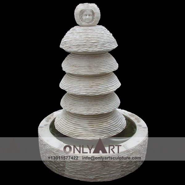 Fountain Marble Sculpture ; Marble Fountain ; stone Fountain ; Indoor ; Outdoor ; Hand carved ; life size ; Large ; Ball ; Wall Fountain ; Interior abstract design marble girl fountain sculpture