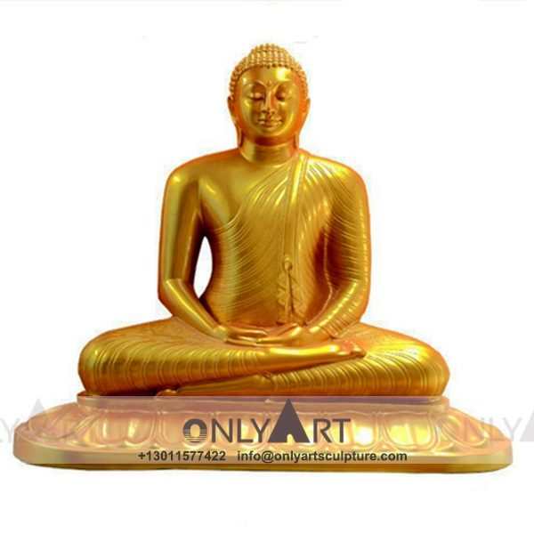 outdoor ; life size ; park decoration ; buddha statue ; art figurines ; thai buddha statue ; home decoration ; Religious decoration life size fiberglass buddha statue