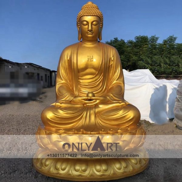 outdoor ; life size ; park decoration ; buddha statue ; art figurines ; thai buddha statue ; home decoration ; outdoor decorative fiberglass buddha statue