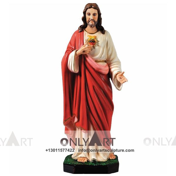 outdoor ; life size ; park decoration ; jesus statue ; jesus family ; church ; catholic statue ; life size christ jesus statue with opening arms
