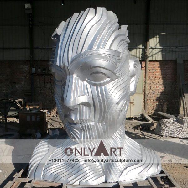 Stainless Steel Sculpture ; Stainless Steel chair ; Home decoration ; Outdoor decoration ; City Sculpture ; Colorful ; Corten Sculpture ; Mirror Art Statue ; Classic garden stainless steel face sculpture