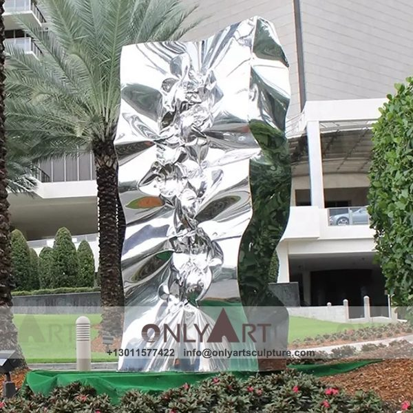 Stainless Steel Sculpture ; Stainless Steel chair ; Home decoration ; Outdoor decoration ; City Sculpture ; Colorful ; Corten Sculpture ; Mirror Art Statue ; Modern design of stainless steel statues in the city