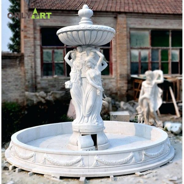 Fountain Marble Sculpture