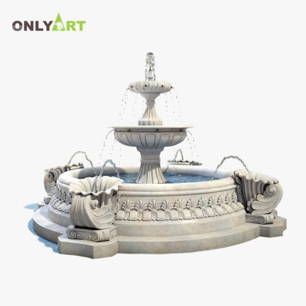 Fountain Marble Sculpture