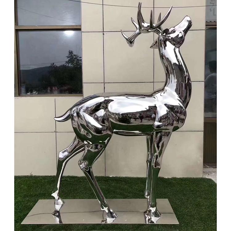 Stainless Steel Mirror Animal