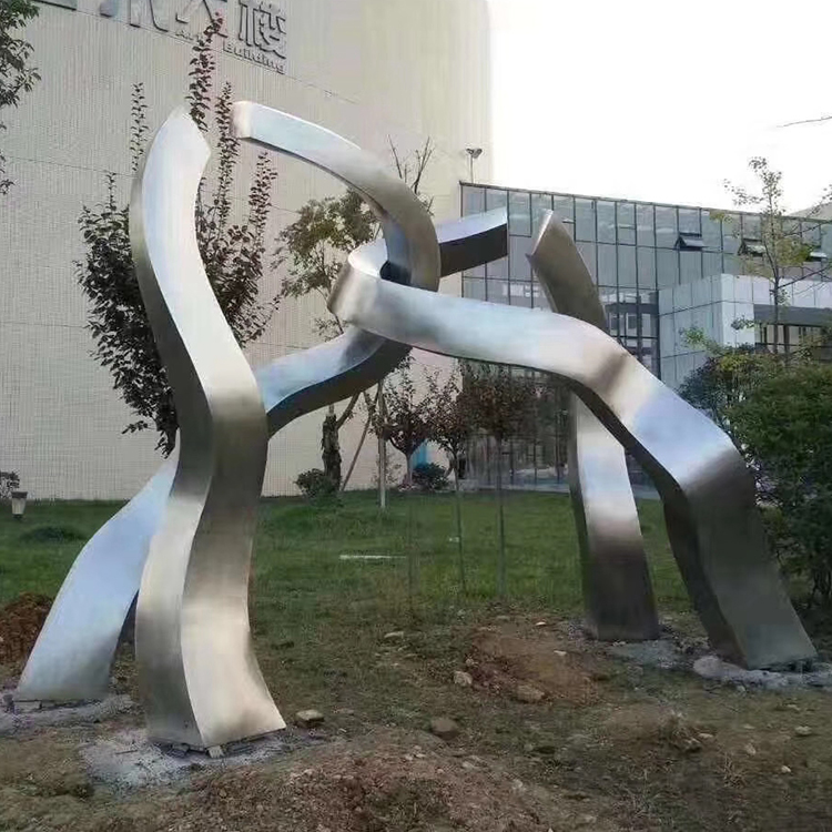 Stainless Steel Mirror Sculpture