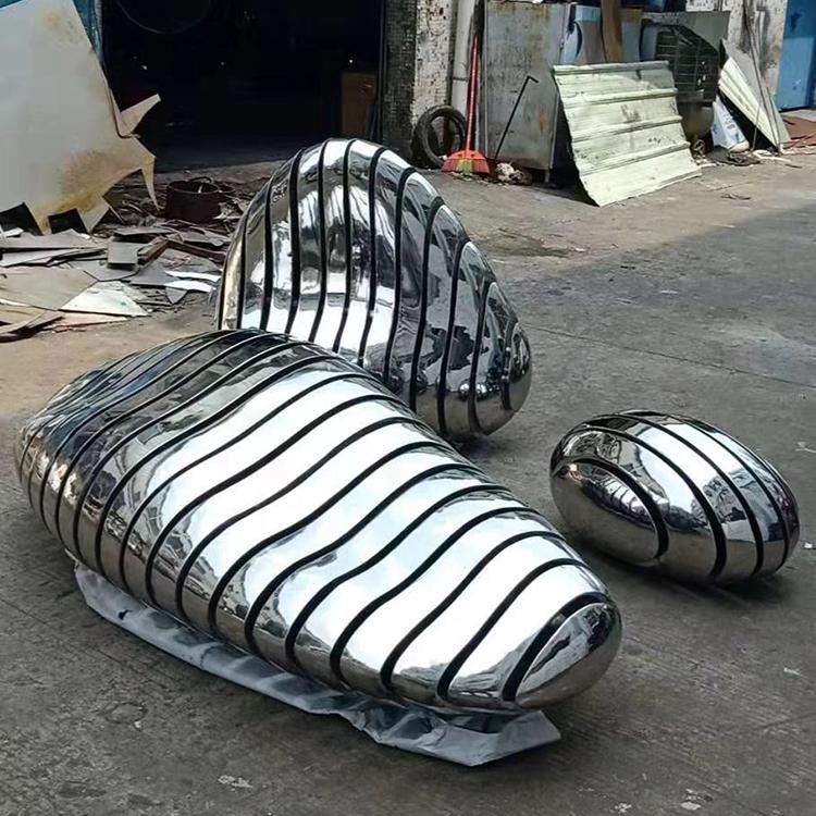 Stainless Steel Mirror Sculpture