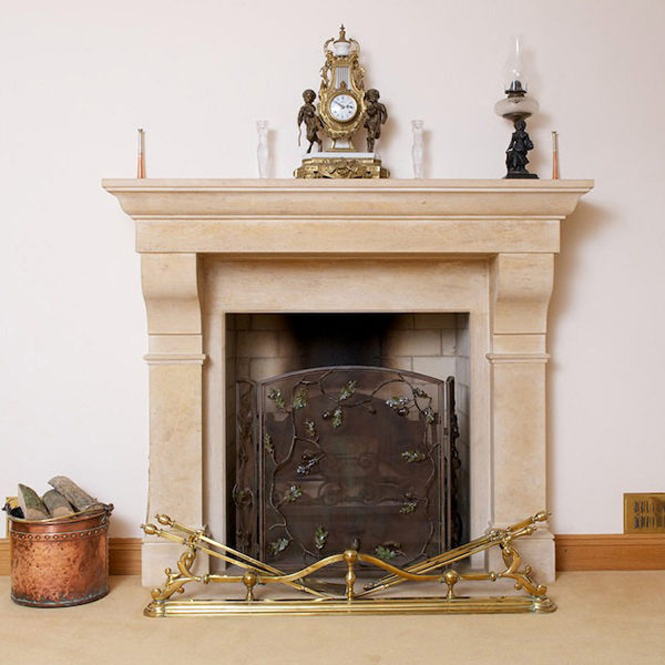 Marble Fireplace Sculpture