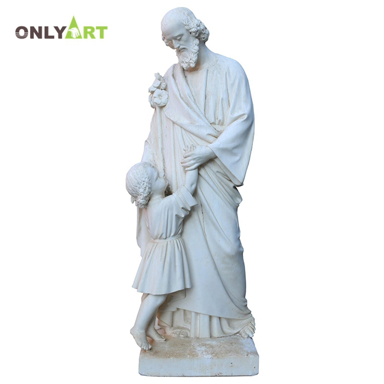 roman man with lion statue No.4