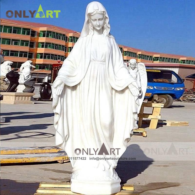 Marble Virgin Mary