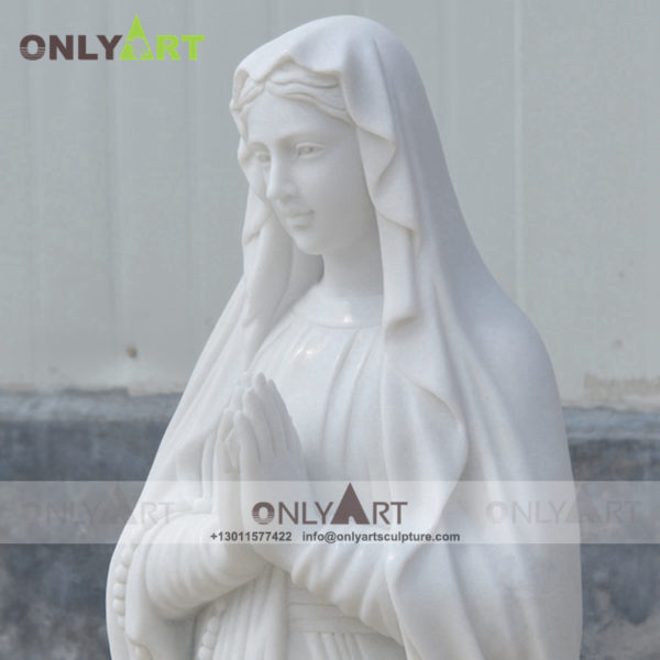 marble mary statue , virgin mary , marble statue , statue , sculpture , church decoration , square decoration , religion , Christ , outdoors , indoor, natural stone , life size , mary , catholic decoration , mother mary , black madonna statue , madonna